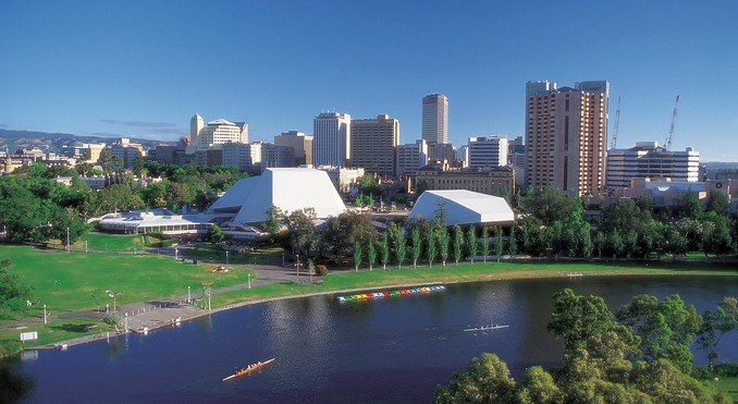 Adelaide - Geografia Australiana