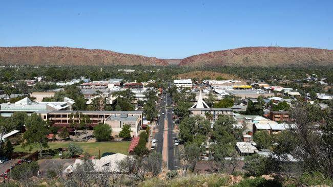 Alice springs - Geografia Australiana
