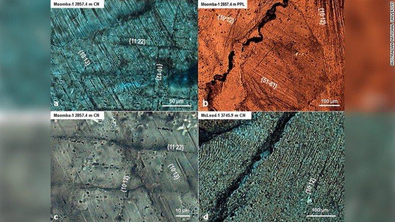 il più grande impatto di meteorite sulla Terra