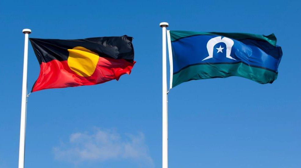 bandiera torres strait e aborigena