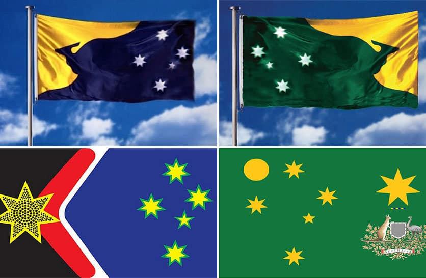 Nuova bandiera australiana